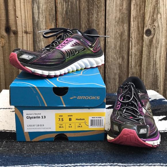 84c4993c4a8 Brooks Shoes -  Brooks  Glycerin 13 Running Tennis Shoe 7.5